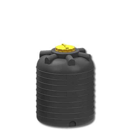 Емкость для воды 1500 литров черная