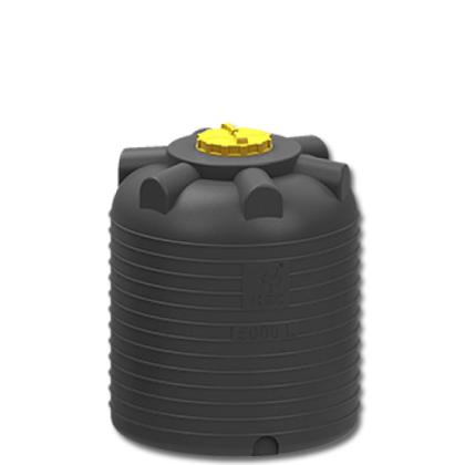 Емкость для воды 5000 литров черная