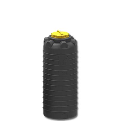 Емкость для воды 750 литров черная 1