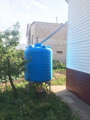 Бак для сбора воды