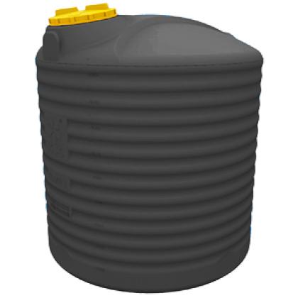 Емкость для воды 10000 литров черная
