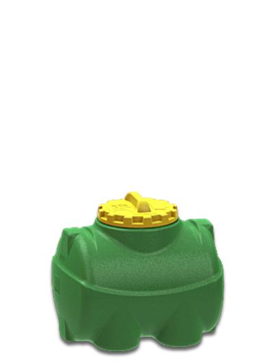 Емкость горизонтальная 100 литров