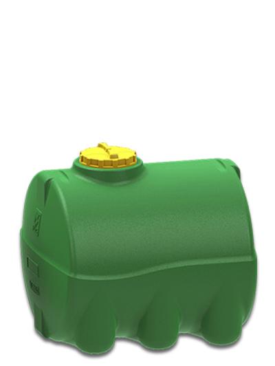 Емкость горизонтальная 1000 литров