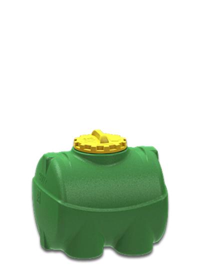 Емкость горизонтальная 200 литров