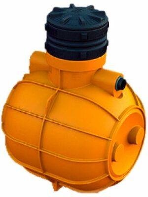 Емкость подземная | 1000 литров | круглая