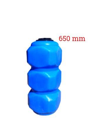 Бак пластиковый прямоугольный | 500 л | столбик