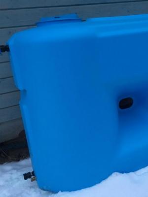 Прямоугольный бак для воды 1100
