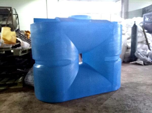 Прямоугольный бак для воды